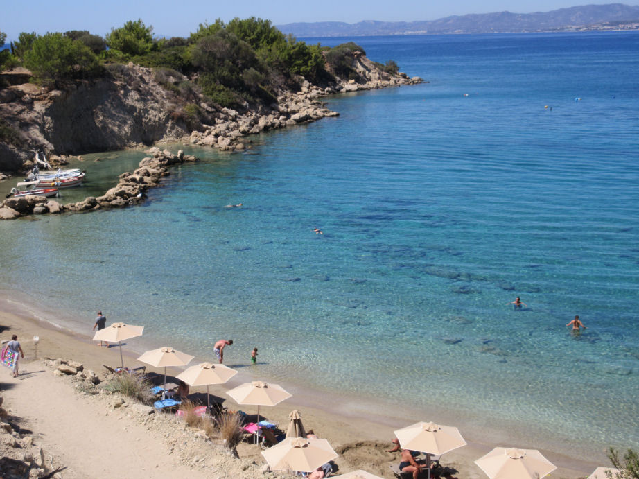 Beaches of Pefkos