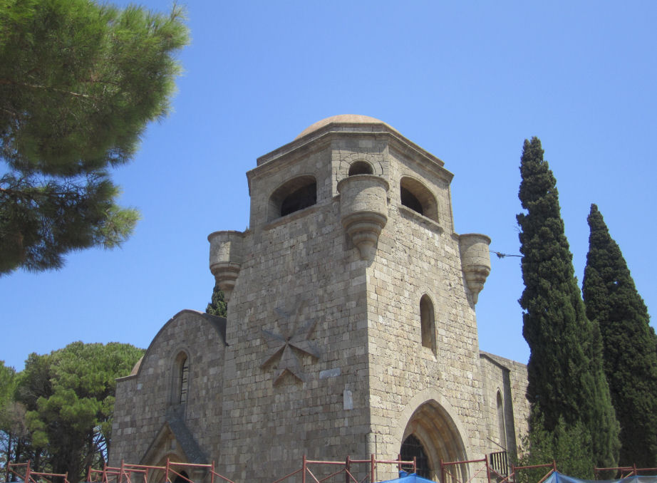 The Church of Our Lady of Filerimos