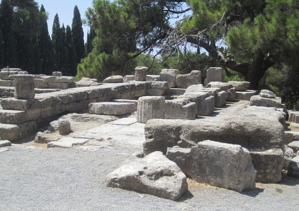 Site of the Temple of Athena