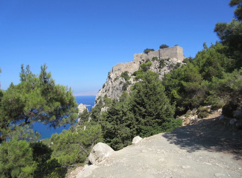 The castle of Monolithos was never defeated