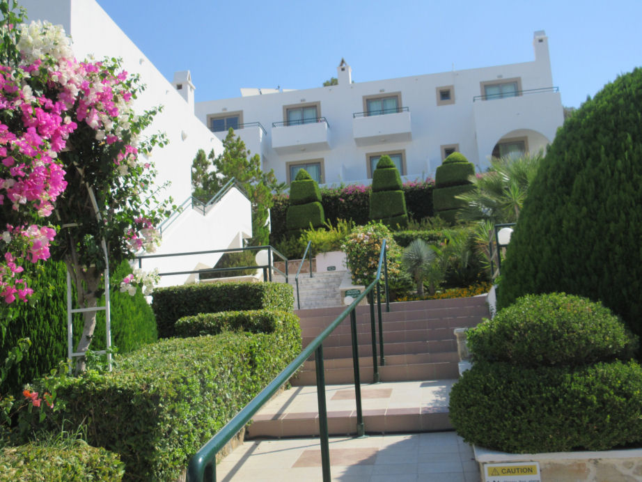 Click here for more info about the Pefkos Beach Hotel