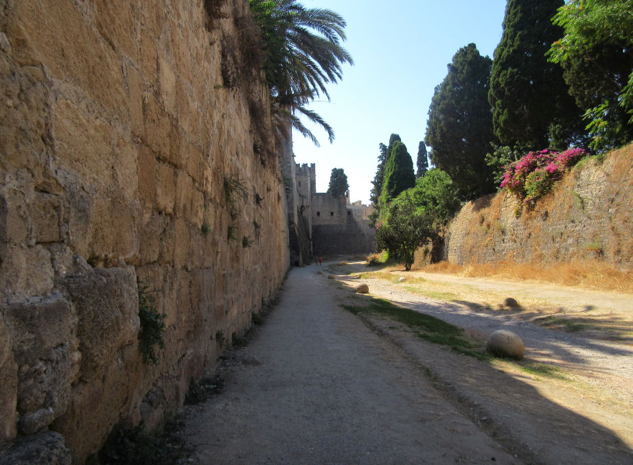 Moats of Rhodes Old Town